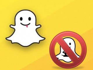 Desinstalar y eliminar una cuenta Snapchat