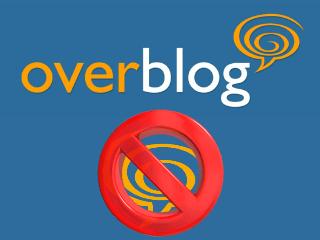 eliminar cuenta blog overblog
