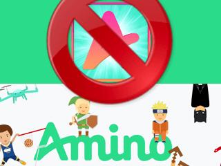Eliminar una cuenta de Amino