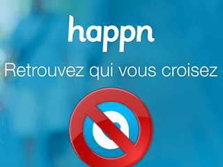 Eliminar una cuenta de Happn