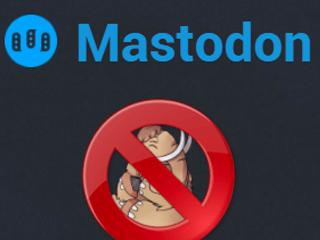 Eliminar una cuenta de Mastodon